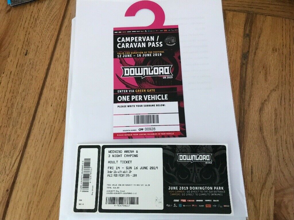 download day tickets