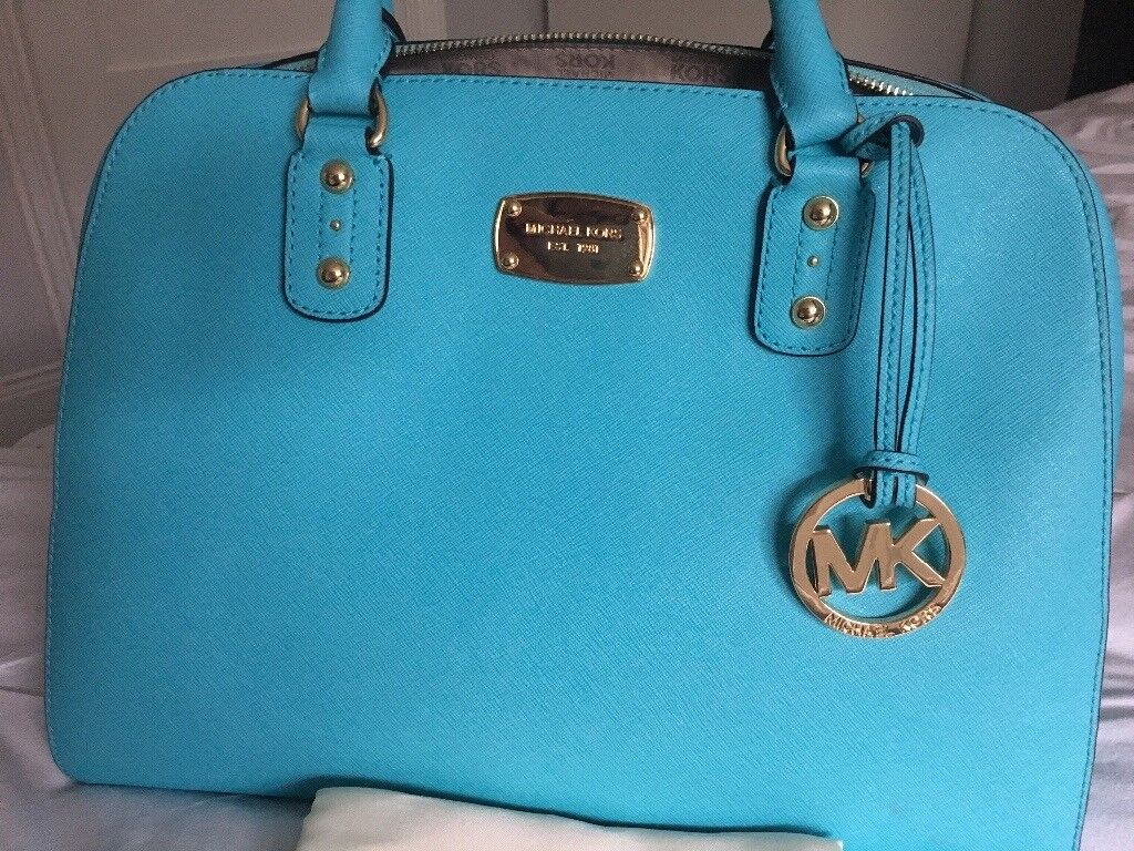 Michael Kors handbag with dust bag, immaculate, stunning colour, 100% genuine *** REDUCED ****