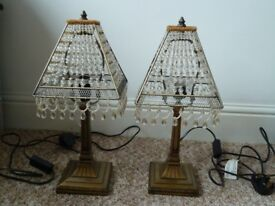 ***Reduced*** Pair of Matching Table Lamps