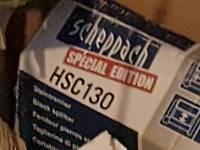 Scheppach special edition blocksplitter