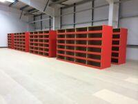 Warehouse Storage Shelving Racking Small Part Shelves Strong 200kg Per Shelf Pallet Bespoke