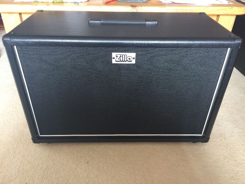 Zilla Fatboy 2x12 Cabinet with V30 & Creamback H speakers ...