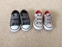 Converse bundle, toddler size 4 & 5