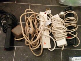 Extension leads and freeview box