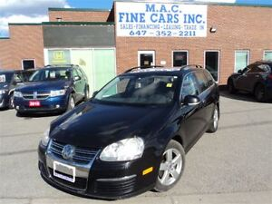 2009 Volkswagen Jetta LEATHER - SUNROOF - CERTIFIED & E-TESTED
