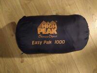 High peak easy pak 1000 3 season sleeping bag