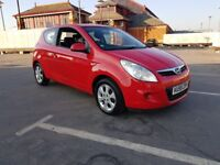 FOR SALE HYUNDAI 1.2 PETROL 2009 RED MANUAL £1399