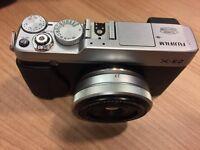 Fujifilm X-E2 + XF27 Fujinon lens