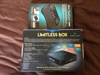 Limitless internet tv box