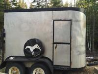 Homemade Horse Trailer