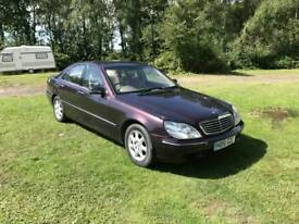 Mercedes s class Low milage