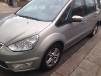 2010 Silver Ford Galaxy Zetec 2.0 TD, 5 Door, 7 Seater, Automatic