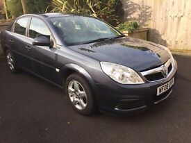 2008 Vauxhall Vectra 1.9 cdti 16v 150 bhp Exclusiv 6 speed Metallic Blue 78000 Genuine Miles
