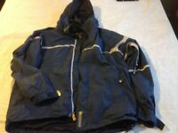 Bonfire and Burton Snowboard jackets blue sz XL