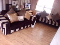Dfs pillow back sofas x2 can deliver