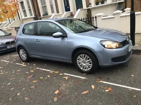 Blue Volkswagen Golf for sale in good condition