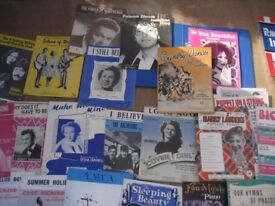 JOB LOT OF MUSIC BOOKS, SHEET MUSIC ORGAN MUSIC
