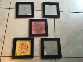 Ikea picture frames x5