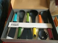 Joseph and Joseph - 6-piece kitchen utensil set - NEW - BOXED