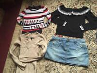 Bundle ladies clothes size xs/8 used 4 items from H&M £8