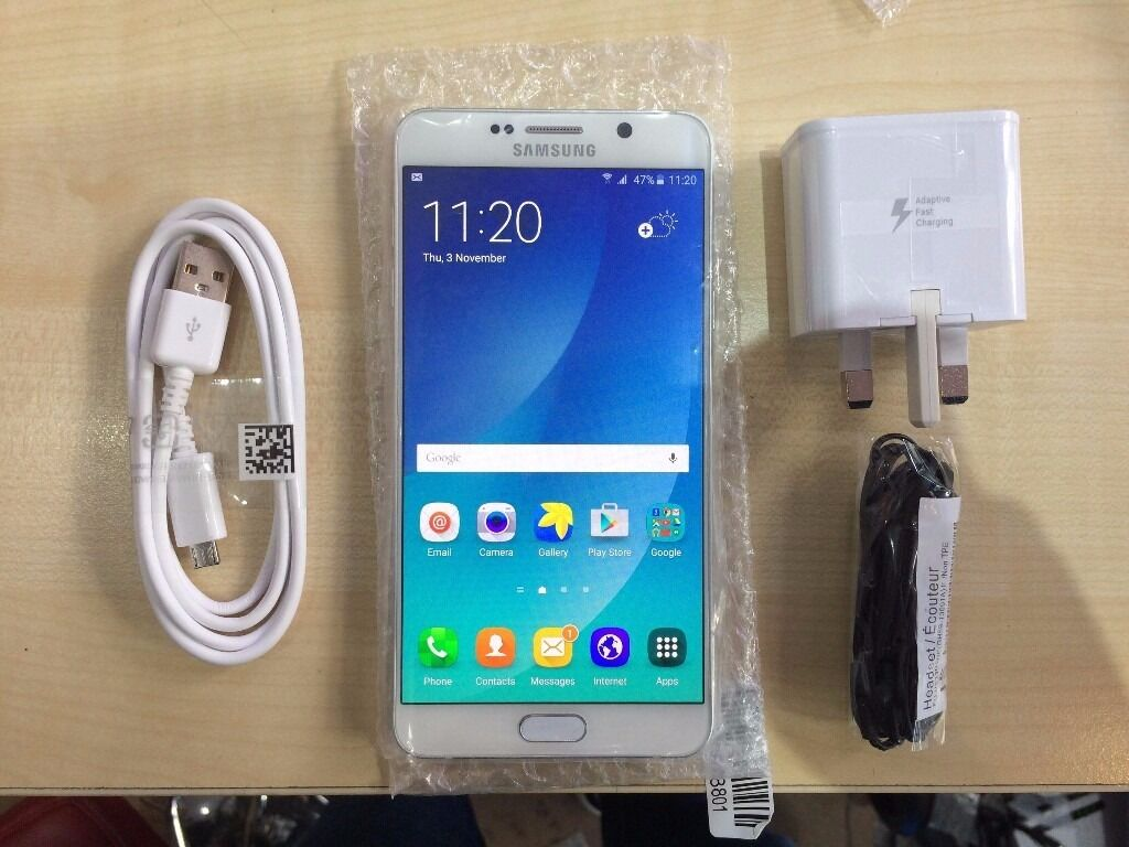 SAMSUNG NOTE 5 WHITEUNLOCKED32 GBVISIT MY SHOP/ GRADE A1 YEAR WARRANTYRECEIPTin Redbridge, LondonGumtree - Samsung NOTE 5 WHITE its , 32 GB, working perfectly. The phone is like NEW and is UNLOCKED compatible with any Sim. 1 YEAR WARRANTY ON THE PHONE. 425, High Road, ILFORD, IG1 1TR ( 5 10 MINS FROM ILFORD STATION ) (1 YEAR WARRANTY RECEIPT ) SHOP OPEN...