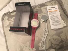 Garmin Forerunner 10 watch used but vgc