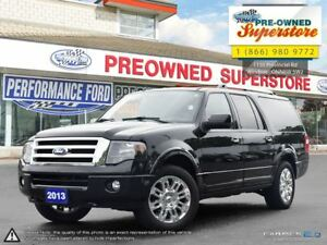 2013 Ford Expedition Max Limited***NAV, 8 SEATER***