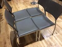 4 Dining Chairs £25