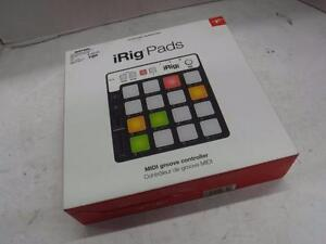 iRig Pads Midi Groove Controller. We Buy and Sell Used Pro Audio Equipment. 114924 CH625404