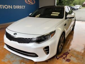 2016 Kia Optima SXL Turbo TURBO! HUGE PANO ROOF! NAVI!