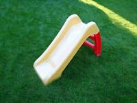 Toddler slide.