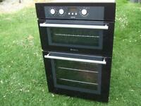 hotpoint double oven ..with 3 months warranty