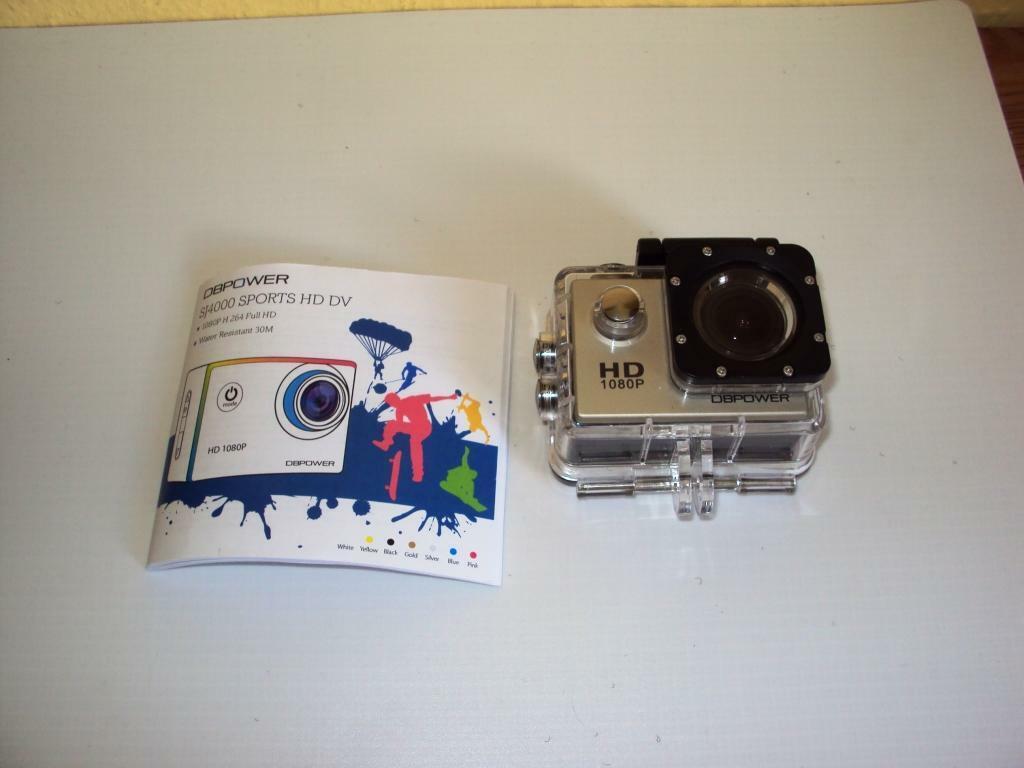 DBPOWER® wasserdicht Action-Kamera 1080P HD 12MP