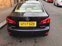Black Lexus is220 Diesel, 07 Plate