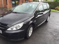 PEUGEOT 307 HDI 2.0 litre diesel in very good condition ! Very cheap £700