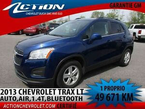 2013 CHEVROLET TRAX FWD LT CROSSOVER AUTO,AIR,1.4L,BLUETOOTH