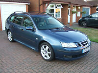 Saab 9-3 1.8t Vector Sport Sportwagon Manual with Sat Nav (Estate)