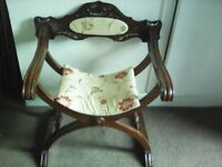 ANTIQUE STYLE BESPOKE CHAIR IN EXCELLENT CONDITION