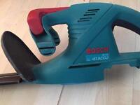 Bosch cordless hedge trimmer