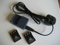 Canon Digital Camera Batteries and Charger