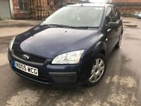 Ford focus 05 plate - 5 door- 1.6 petrol - 10 months mot - warranted low 82K on the clock