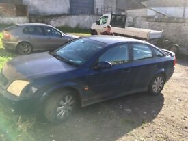 Vauxhall VECTRA 04, petrol, good runner mot,