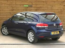 Volkswagen Golf 1.6 TDi 105 Match 5dr DSG CAMBELT CHANGED (shadow blue metallic) 2011