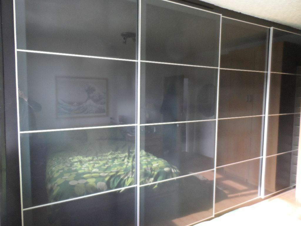4x Sliding Doors Track UGGDAL For IKEA PAX Or Fitted Wardrobes 400cm Wide X