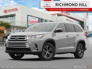 2018 Toyota Highlander LE  -  Bluetooth - $289.43 B/W