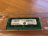 Crucial SODIMM 4GB DDR3 1600 1.35V CL1 - MAC MINI - LAPTOP MEMORY