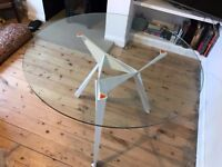 Origami Dining Table Glass TopNew Used Tables Chairs For Sale In Leeds West