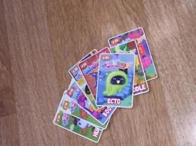 Moshi monsters mini cards