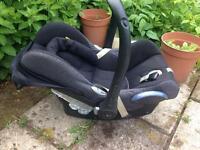 Maxi-Cosi car seat -newborn to six months