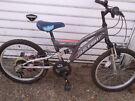 BOY  OR  GIRLS BIKE RALEIGH 20 inch wheels 6 speed gears £45